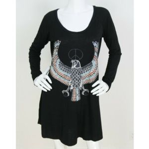 Lauren Moshi Fiona Peace Eagle Dress RARE